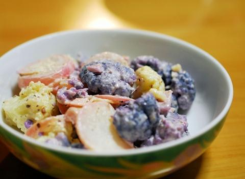 紫カリフラワーサラダ