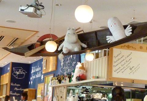 ムーミンカフェ店内