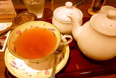紅茶浪漫館シマ乃の桜紅茶