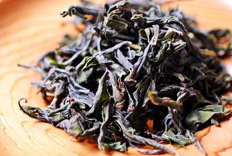 狭山微発酵茶琥珀茶葉