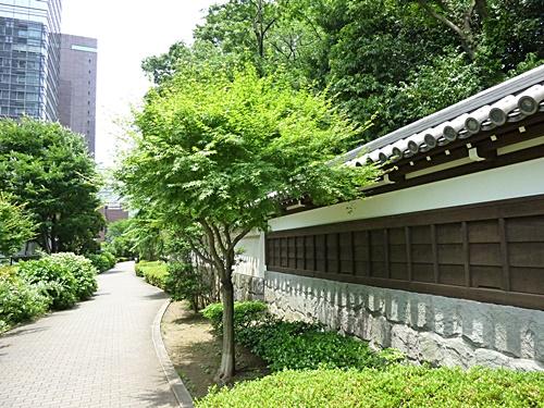 小石川後楽園塀