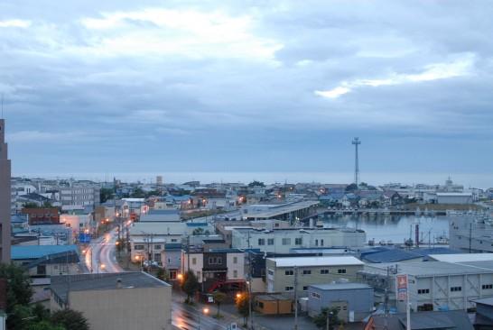 朝の紋別港
