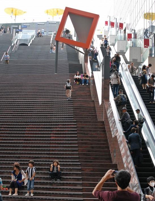 京都駅ビル大階段