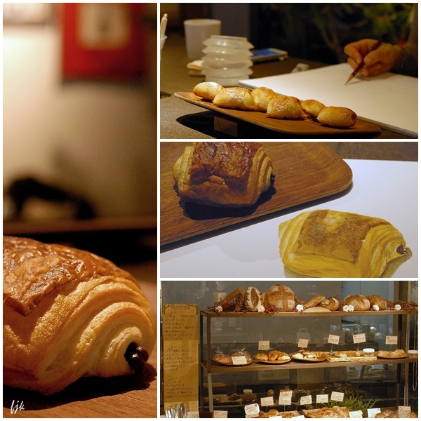 パンを描く