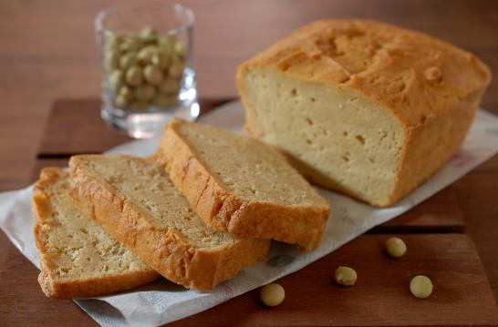 大豆粉とおからのケークサレ