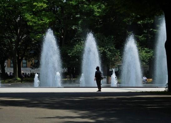 上野公園噴水
