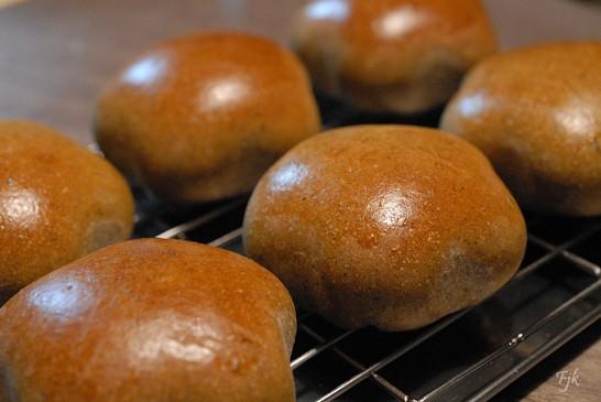 マンゴーあんパン焼きたて