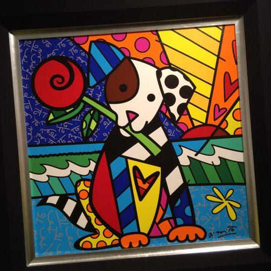 ロメロ・ブリット展から 犬