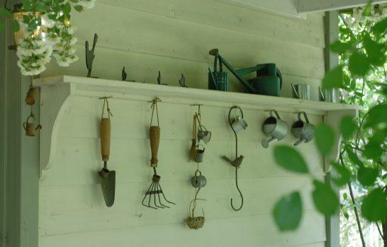 庭のツールたち