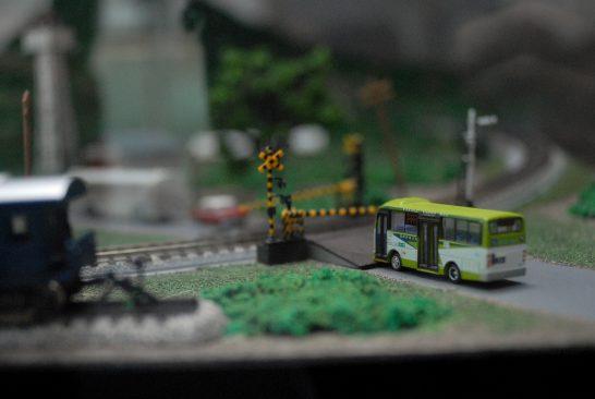 バスの模型