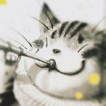 猫イラスト展まで10日