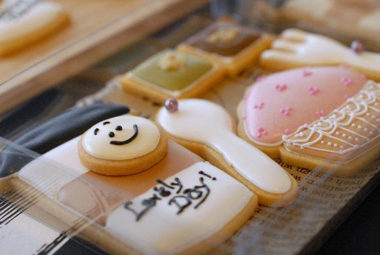 アイシングクッキー作品