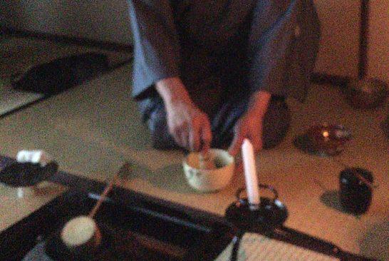 祇園でお茶